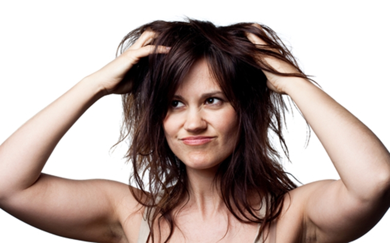 Though dry shampoo saves time, over using it could damage your hair.