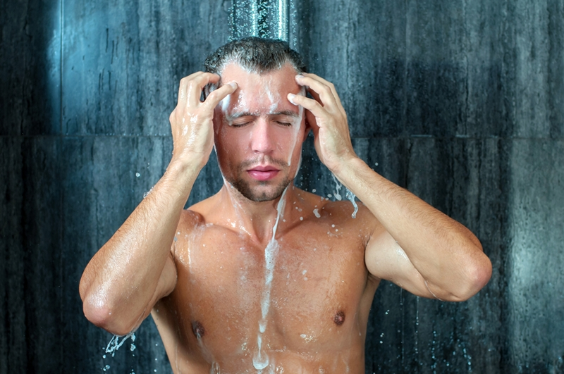 The hair in your shower drain could be a result of normal shedding.